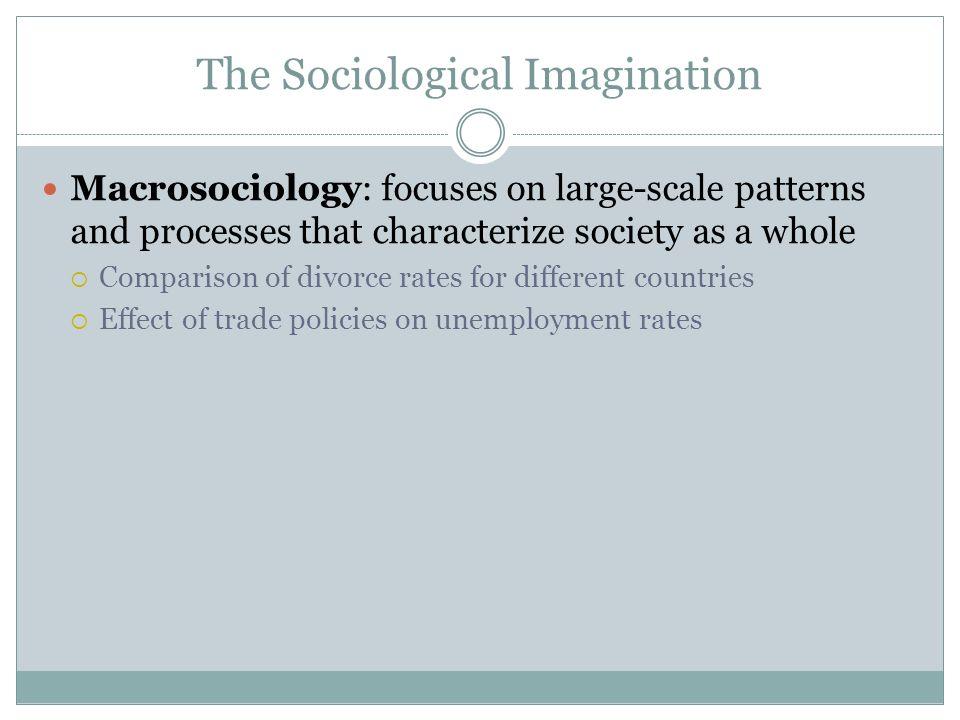 sociological imagination paper
