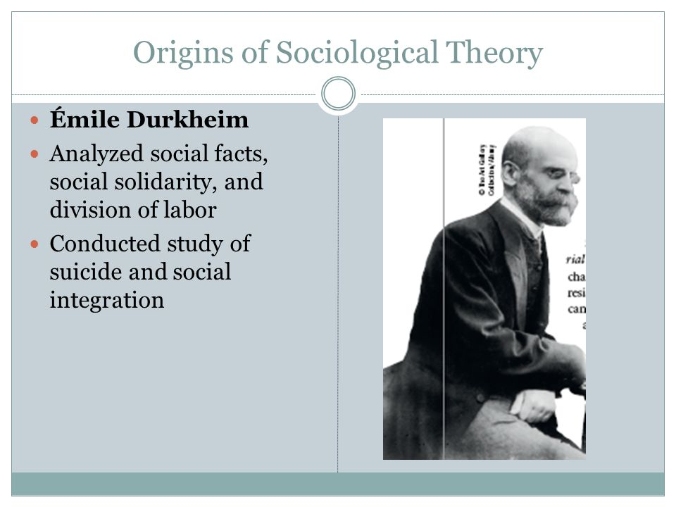 an analysis of durkheims theory on social facts solidarity and societal cohesion This introduction to social theory is unique in addressing key issues in sociological, political and cultural analysis through an examination of modern theories of.
