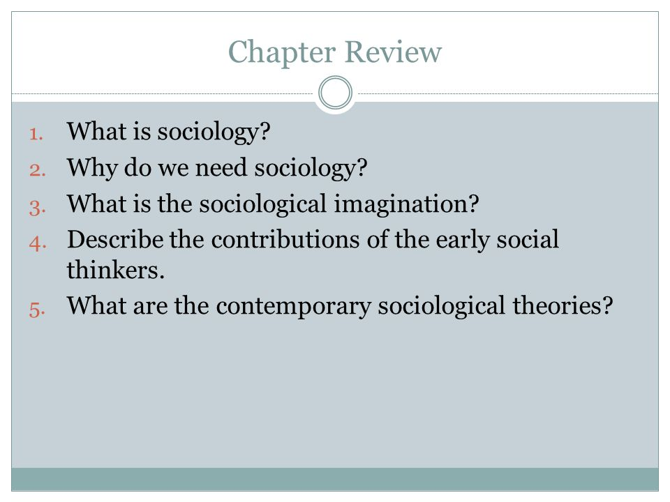 What Is the Importance of Studying Sociology?