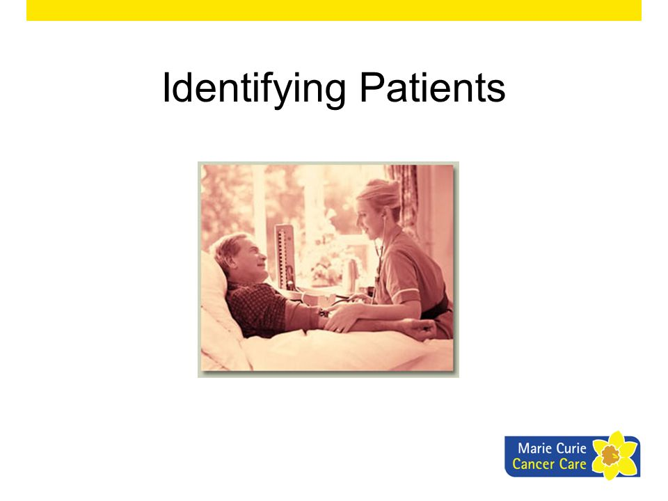 Identifying Patients