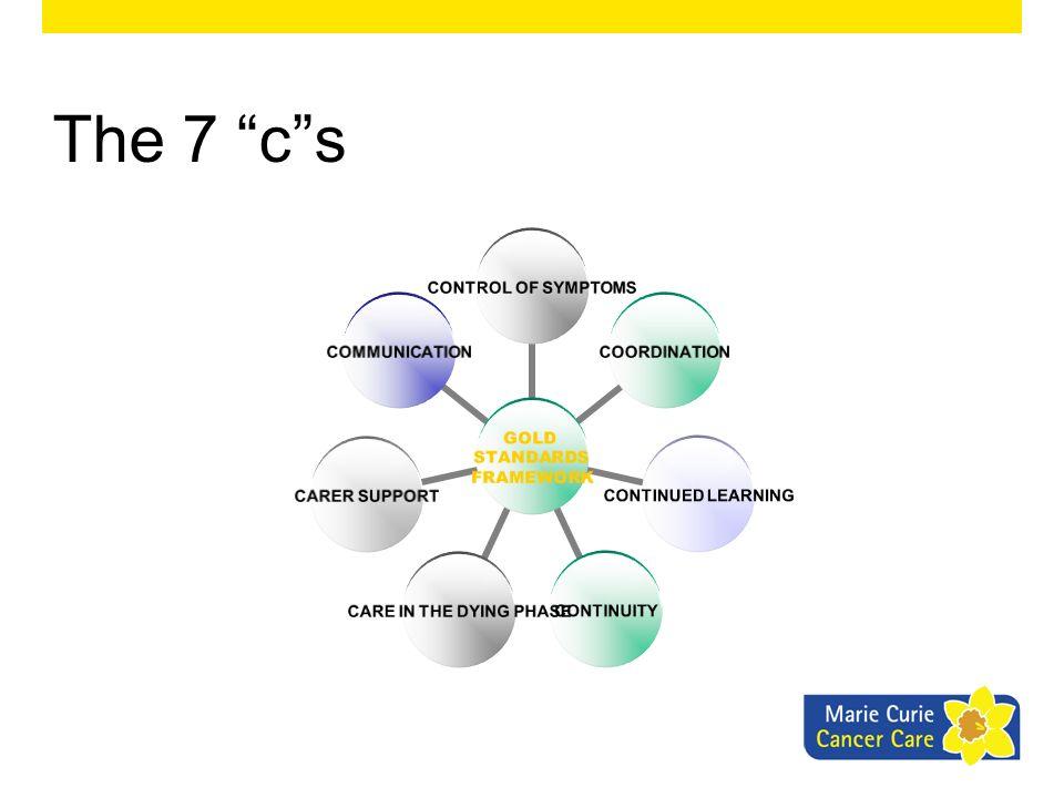 The 7 c s