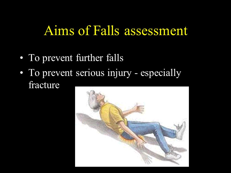 Aims of Falls assessment