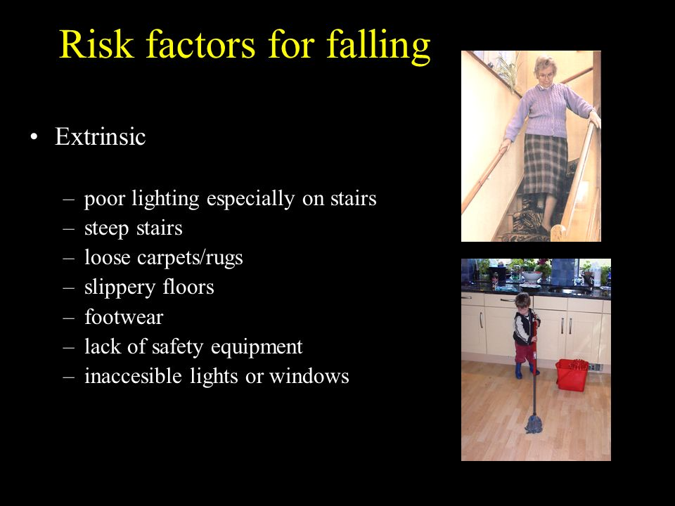 Risk factors for falling