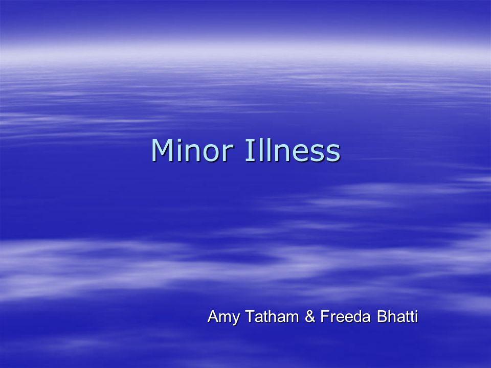 Amy Tatham & Freeda Bhatti