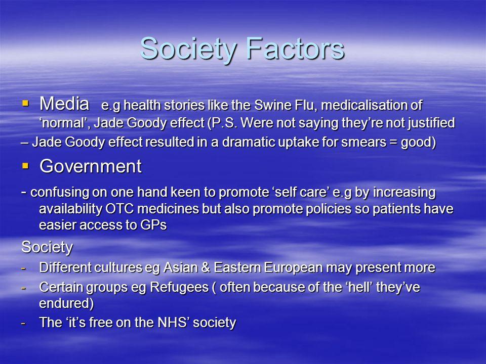 Society Factors