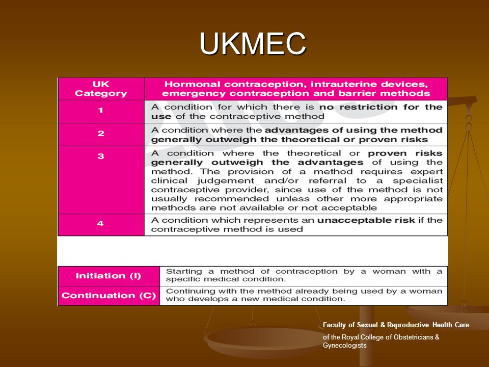 UKMEC Faculty of Sexual & Reproductive Health Care