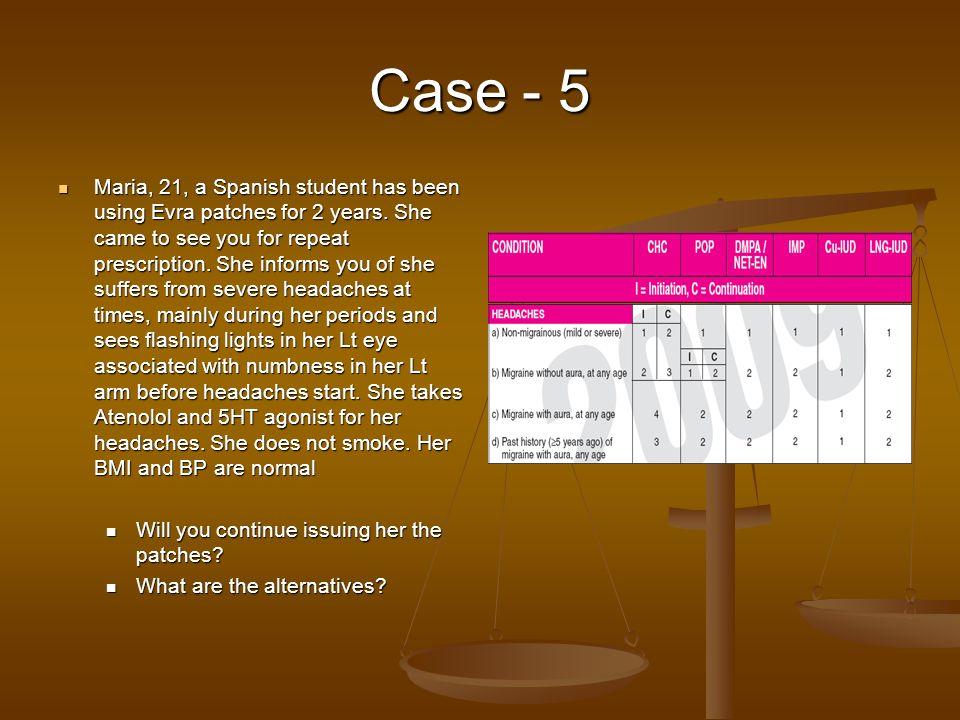 Case - 5