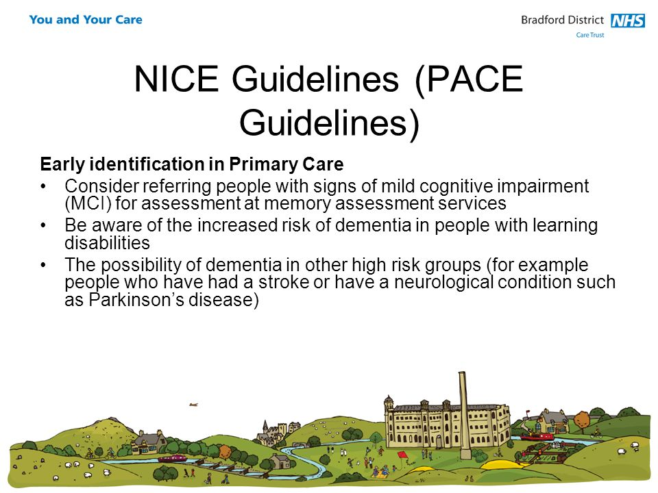 NICE Guidelines (PACE Guidelines)