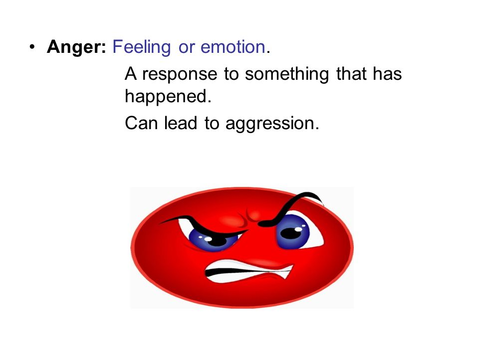Anger: Feeling or emotion.