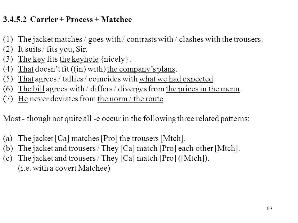 3.4.5.2 Carrier + Process + Matchee
