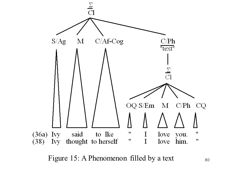Figure 15: A Phenomenon filled by a text