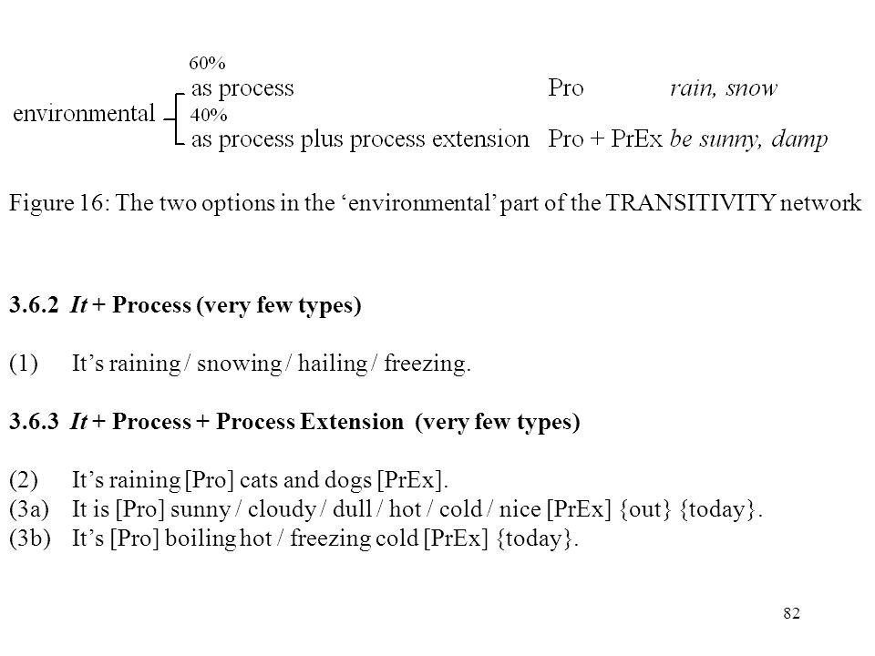 Figure 16: The two options in the 'environmental' part of the TRANSITIVITY network