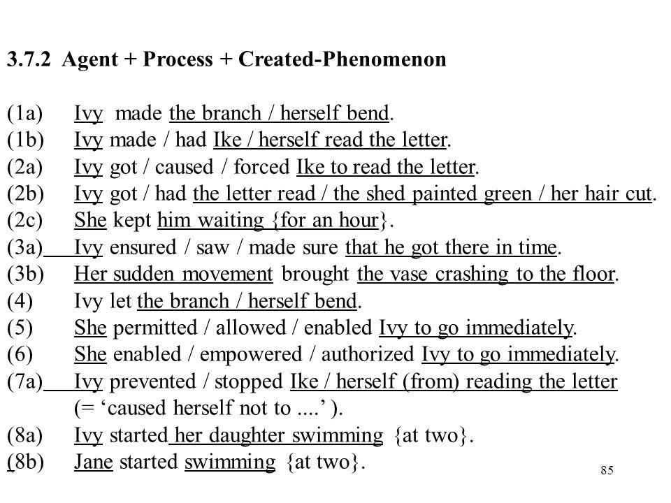 3.7.2 Agent + Process + Created-Phenomenon
