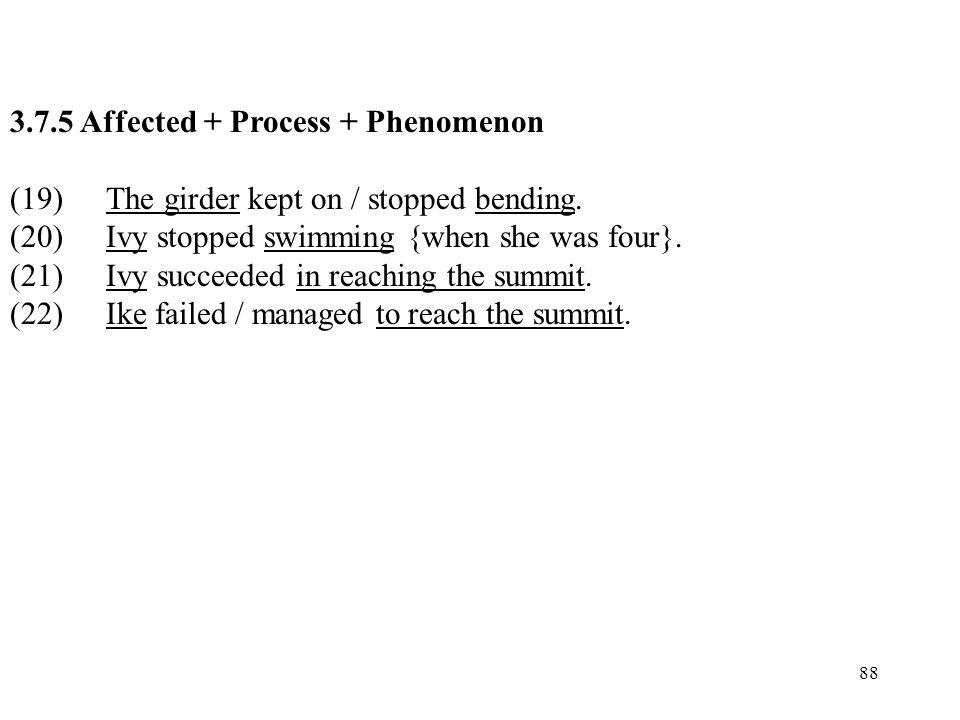 3.7.5 Affected + Process + Phenomenon