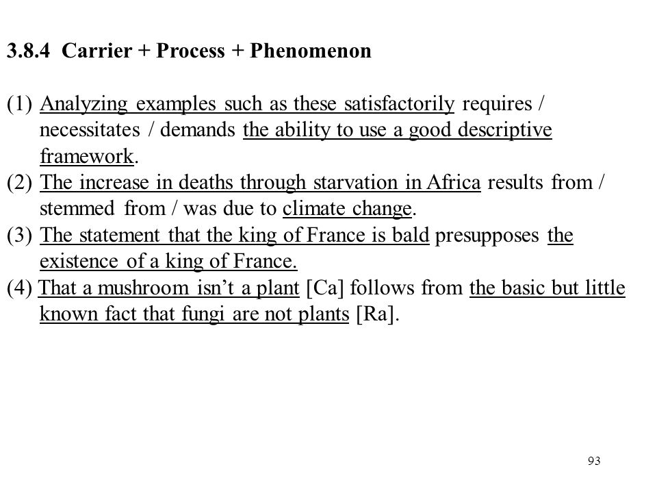 3.8.4 Carrier + Process + Phenomenon