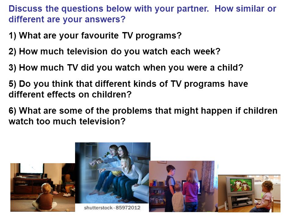 do children nowadays watch too much tv essay Children start watching tv at a young age parents try to coerce their children to play outside but would rather stay glued to their television sets the parent's attempts to get their children to watch less tv are fruitless the average amount of time tv's are on a day is 6 hours and 47 minutes.