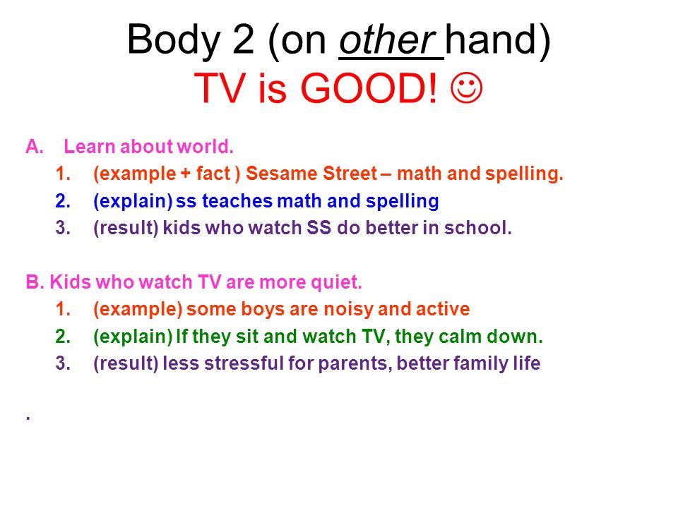 essay children spend too much time watching tv Ielts essay - studies suggest that children spend more time watching tv than they did in the past and spend less on doing active or creative things.