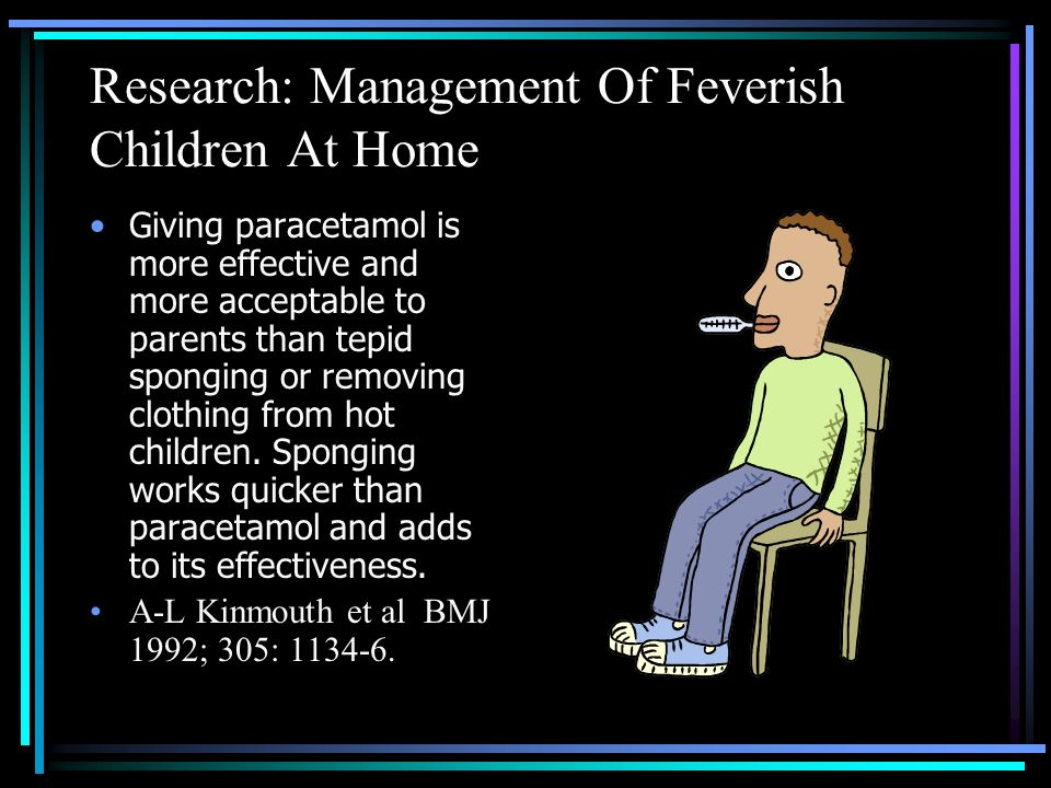 Research: Management Of Feverish Children At Home