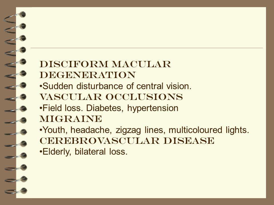 Disciform macular degeneration