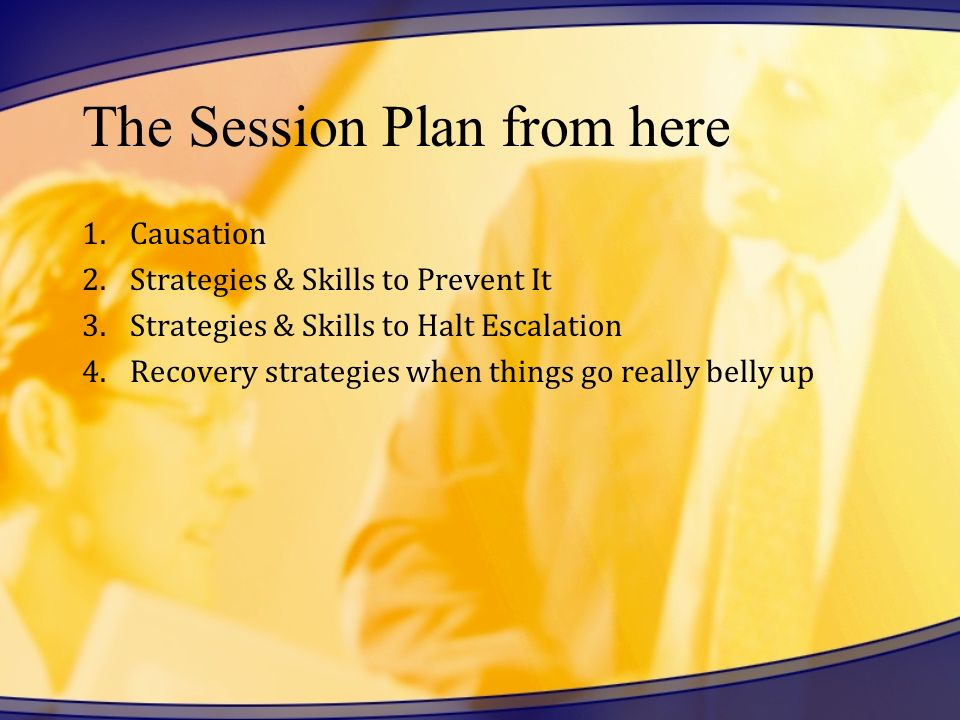 The Session Plan from here