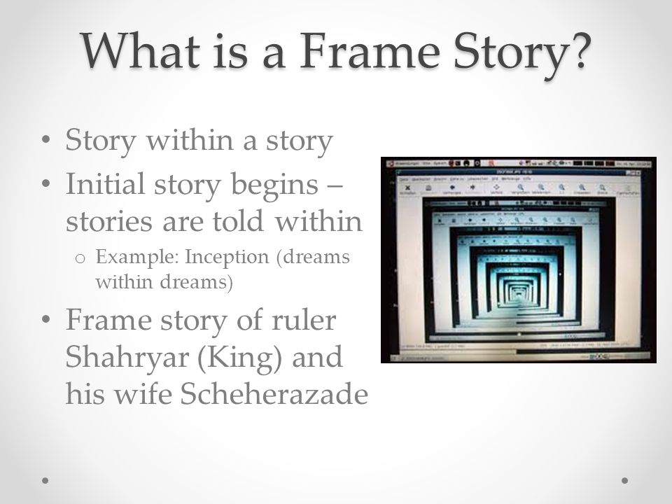 Story Frame Example - Page 7 - Frame Design & Reviews ✓