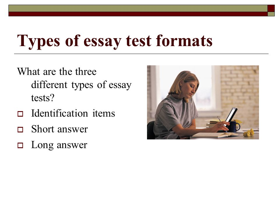 three types of writing essays