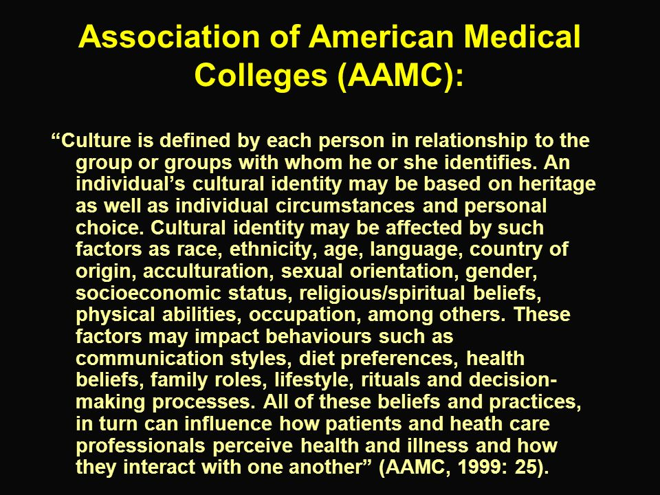 Association of American Medical Colleges (AAMC):