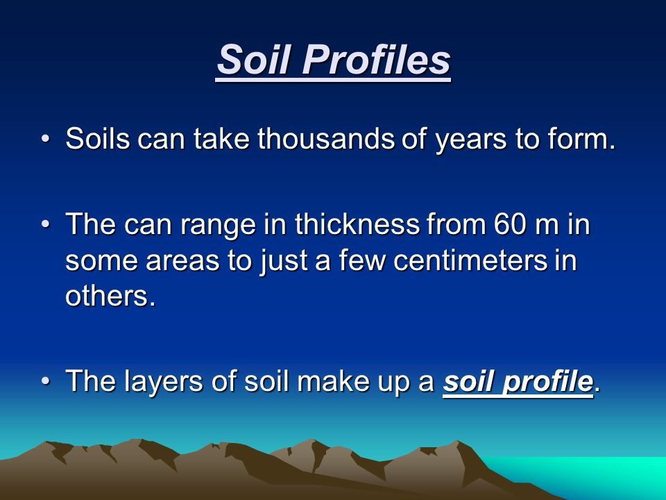 Chapter 10 minerals rocks and soil ppt download for Soil 60 years