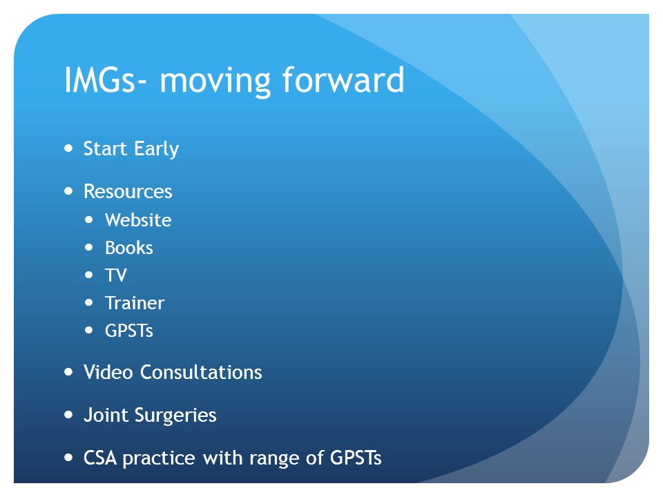 IMGs- moving forward Start Early Resources Video Consultations