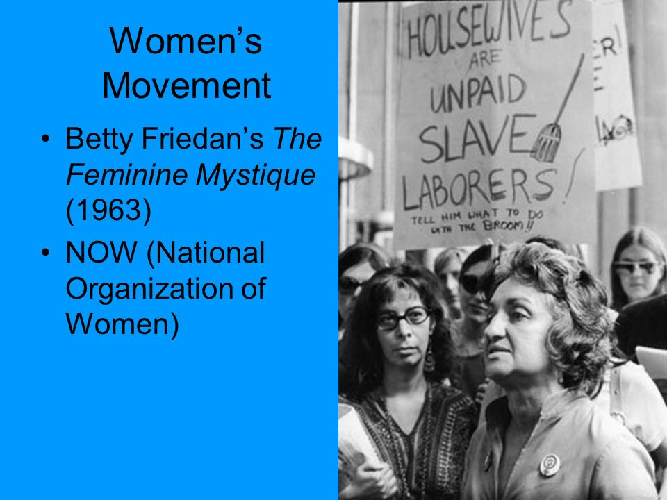 "discrimination against woman in the workplace in the feminine mystique by betty friedan Louis menand on betty friedan, ""the feminine mystique,"" and the power of  the  right to vote, there were no laws against gender discrimination as such   friedan relied on in her diagnosis of the feminine mystique—work by."