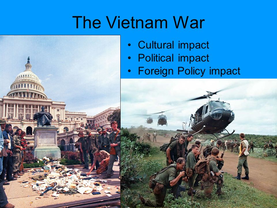 How did the Vietnam War affect America?