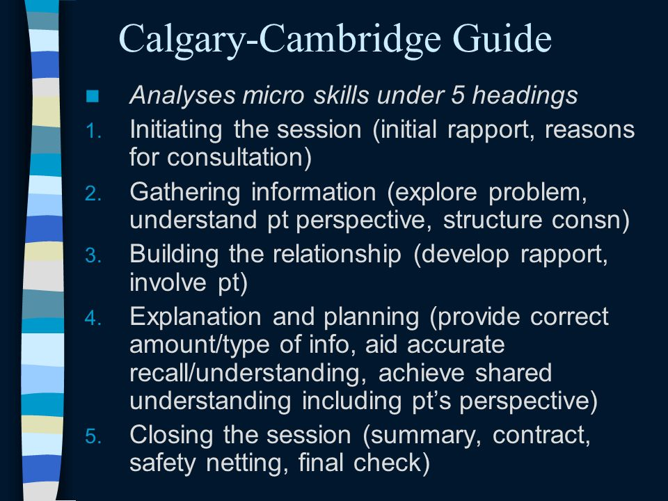 Calgary-Cambridge Guide
