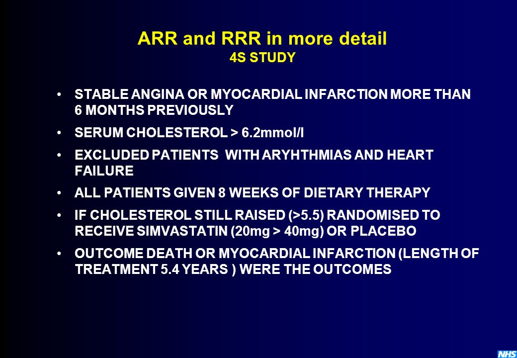 ARR and RRR in more detail 4S STUDY
