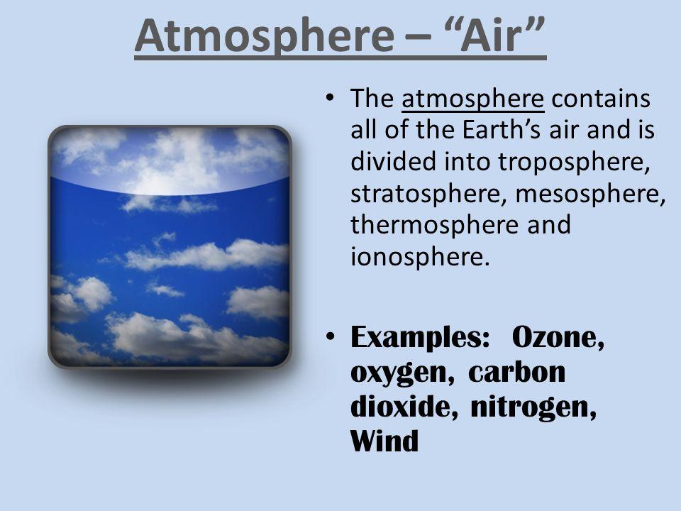 Atmosphere – Air