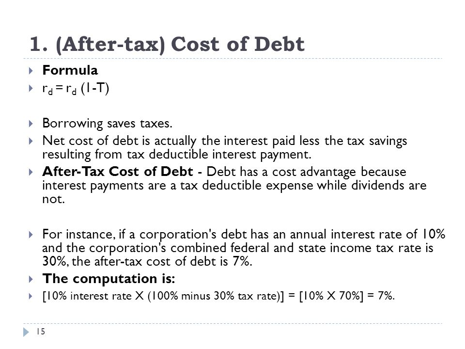 formular to debt The debt service coverage ratio or dscr is a financial ratio that measures a company's ability to service its current debts by comparing its net operating income with.