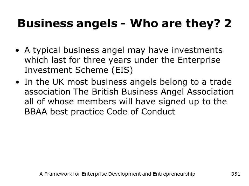 Business angels - Who are they 2