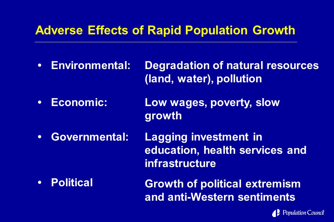 some effects of rapid population growth Some effects of rapid population growth essays: over 180,000 some effects of rapid population growth essays, some effects of rapid population growth term papers, some.