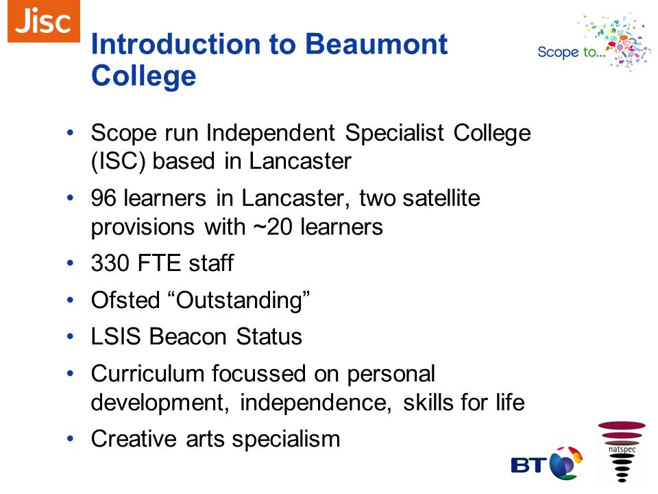 Introduction to Beaumont College