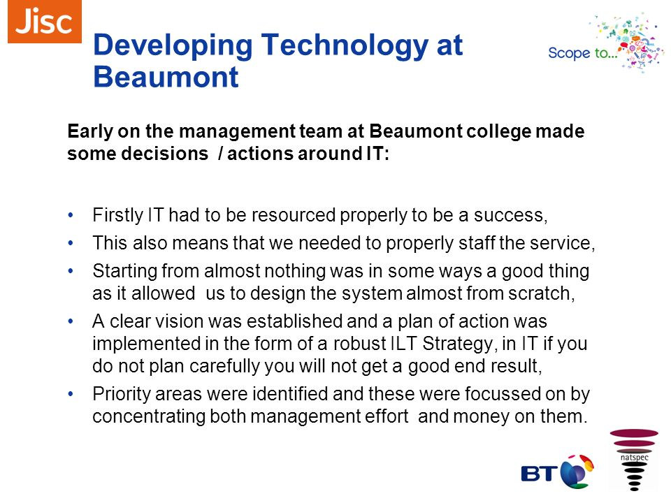 Developing Technology at Beaumont