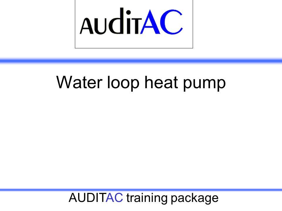 Water loop heat pump