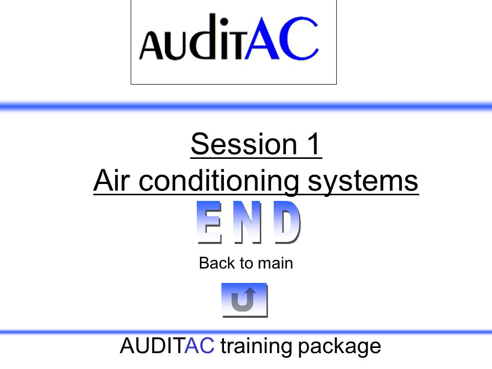 Session 1 Air conditioning systems