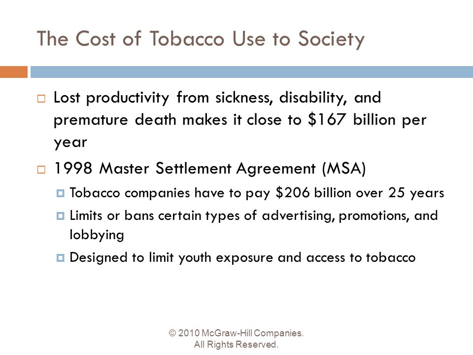 Toward A Tobacco-Free Society - Ppt Download