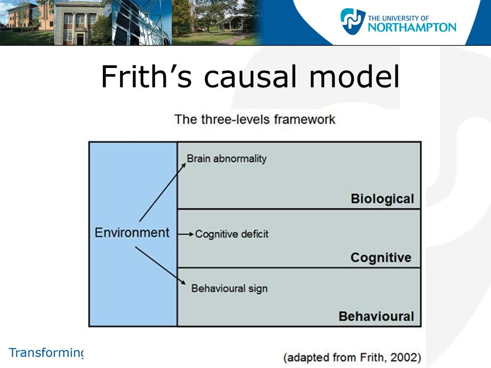 Frith's causal model