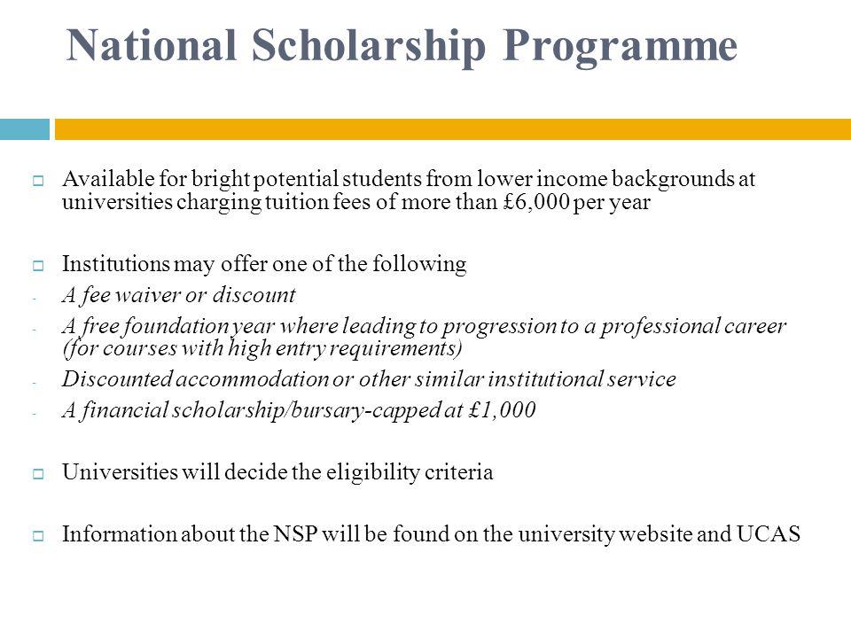 National Scholarship Programme