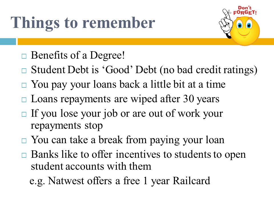 Things to remember Benefits of a Degree!