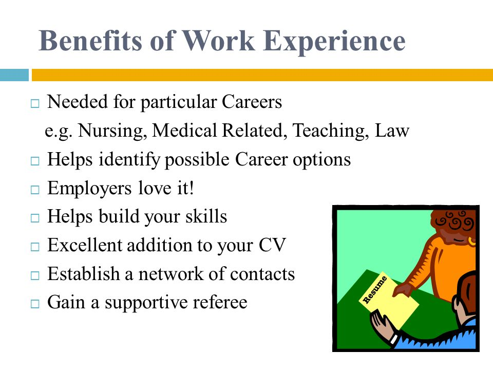 required experience for career option Explore career options career & occupational guides |  required training and education needed, earnings and expected job prospects the bls also publiches occupational outlook quarterly, a magazine that covers topics like new and emerging occupations, training opportunities, salary trends, and results of new bls studies  experience, and.