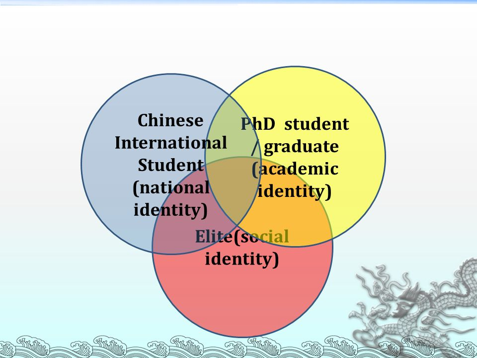 Chinese International Student Elite(social identity)