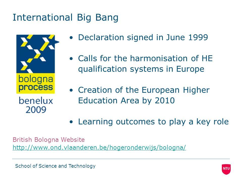 International Big Bang