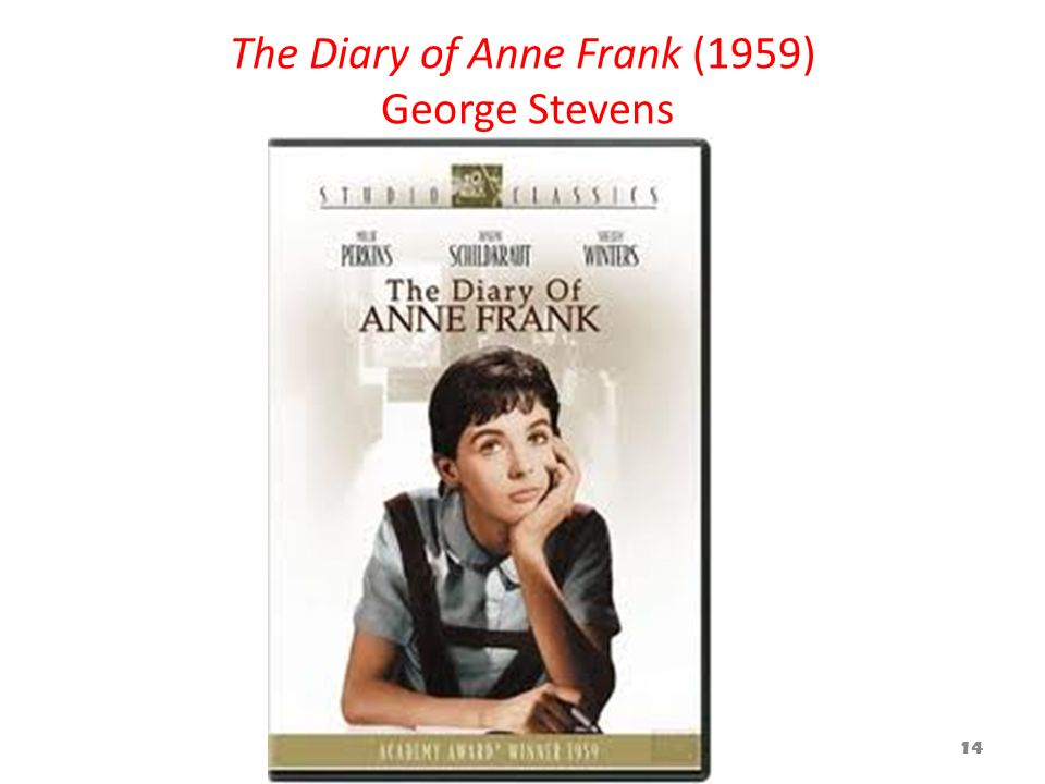 The Diary of Anne Frank (1959) George Stevens