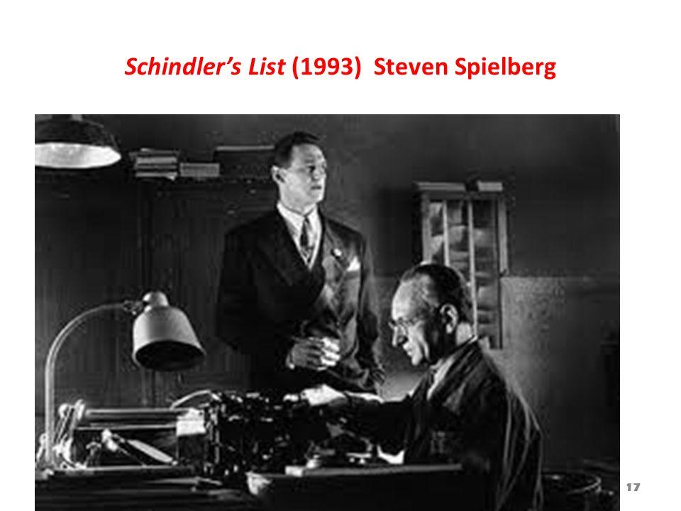 Schindler's List (1993) Steven Spielberg